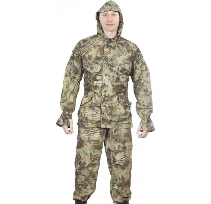 Tactical camo SUMRAK 1 uniform Twilight PYTHON FOREST suit