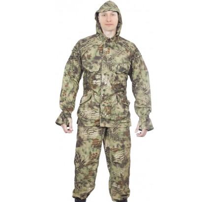 戦術迷彩SUMRAK1均一トワイライトパイソンの森のスーツ