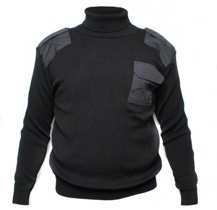 ロシア軍のジャケットスペツナズのタートルネックのセーター