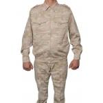Russian marines troops in ISIS summer desert camo uniform
