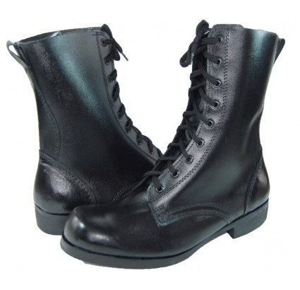 Old Style Russian army chrome leather boots T-1