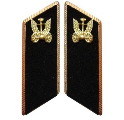 Russian AUTOMOBILE TROOPS PARADE military collar tabs