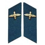 Sowjetisches Militär / Russische Armee-Luftwaffe Kragenspiegel