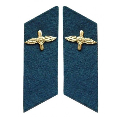 Soviet Army Russian AIR FORCE Collar tabs