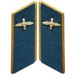 Militare sovietico / dell'aeronautica schede collare parata russi