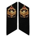 ロシア軍の軍隊軍隊の襟のタブ