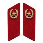 Russian Army INFANTRY TROOPS military collar tabs