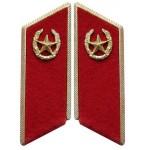 Sowjetische / russische Armee Infanterie Truppen Parade Kragen Tabs