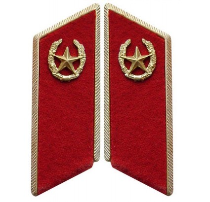 Soviet / Russian Army INFANTRY TROOPS parade Collar tabs