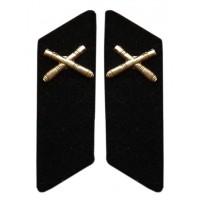 Artillery Collar Tabs +$10.00