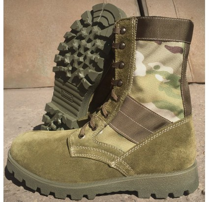 Tactics Multicam assault camo boots by Garsing