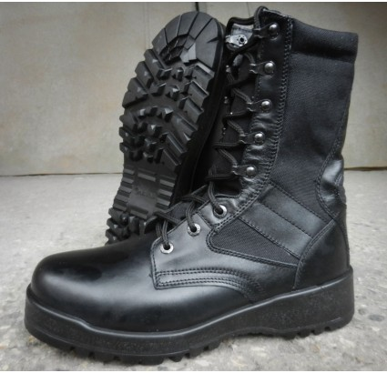 High black Russian tactical ankle boots TACTICS