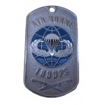 U.S. Army military dog tag AIRBORNE TROOPS
