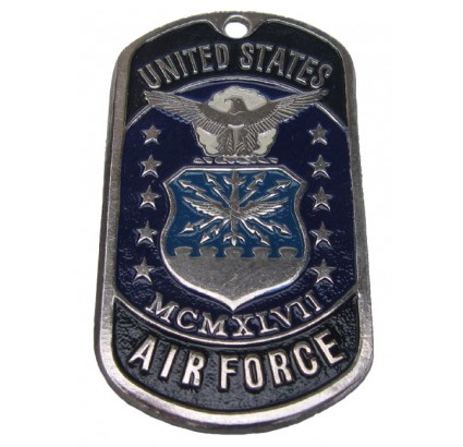 "United Stated military dog tag MCMXLVII ""U.S. AIR FORCE"""