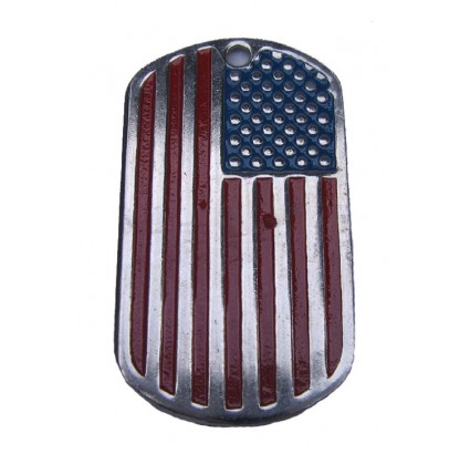 "United Stated name tag ""USA FLAG"""