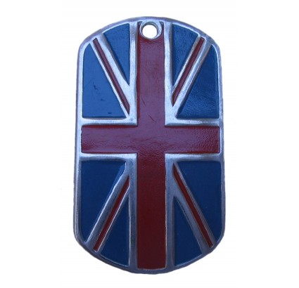 "Great Britain name tag ""FLAG of UNITED KINGDOM"""