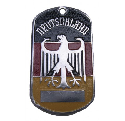 "German name tag ""DEUTSCHLAND"""