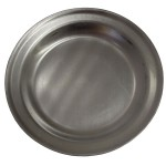 Aluminum plates for food from Soviet Army MO USSR