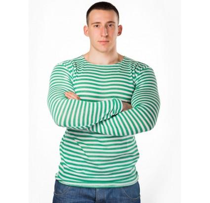 Russo camicia a righe verde militare guardie di frontiera a maglia