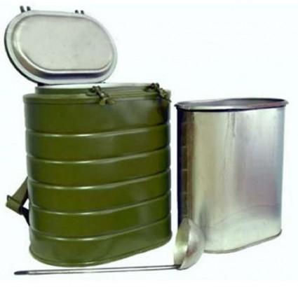 Termómetro del Ejército ruso TVN 12 con frasco de acero inoxidable - 12L