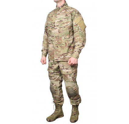 MULTICAM modern THUNDER camo uniform with kneepads