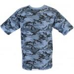 Camiseta urbana táctica del camo de la flora t-shirt