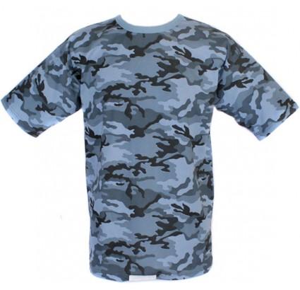 T-shirt tattico urbano Flora camo militare