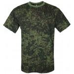 Russo camo digitale PIXEL militare T-shirt