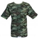 タクティカルロシア軍フローラ迷彩柄Tシャツ
