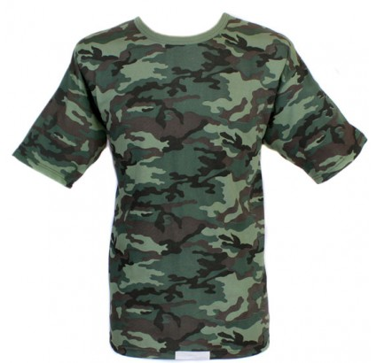T-shirt russe camo Armée FLORA tactique