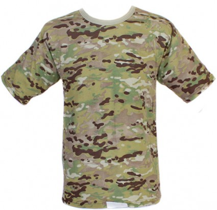 MULTICAM tactical camouflage military T-Shirt