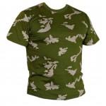 KLMK taktische camo Birke Militär T-Shirt