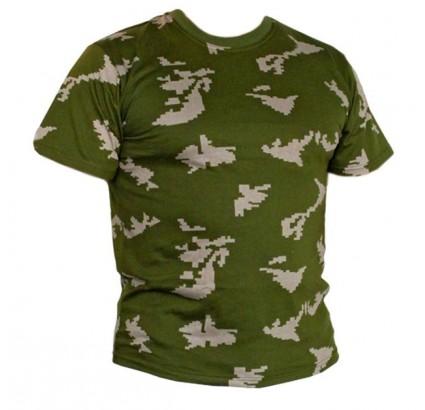 KLMK táctico camuflaje abedul militar camiseta