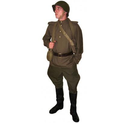 Oficial de la Infantería Soviética Uniforme del Soldado Ruso