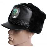 Ukraine Police Officers warm Visor Hat