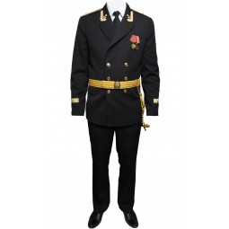 Soviet / Russian NAVAL Parade uniform jacket BLACK