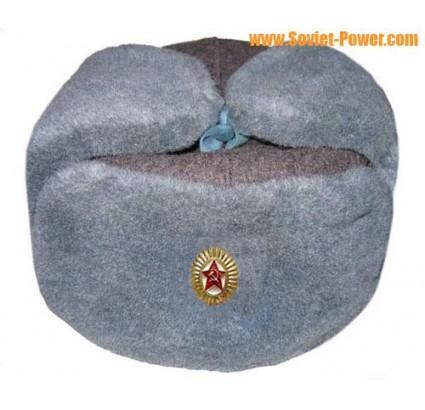 Russo ufficiali militari cappello sovietico / Ushanka inverno