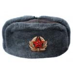 Russische / Sowjetische Armee Sergeants Ushanka Wintermütze