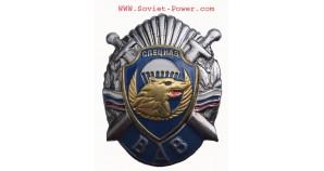 Russia VDV Division SPETSNAZ Metal Badge SWAT Swords