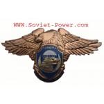 ロシアVDV事業部SPETSNAZメタルバッジSWATイーグル
