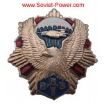 Armée Russe VDV BADGE PARATROOPER - Eagle sur Red Star