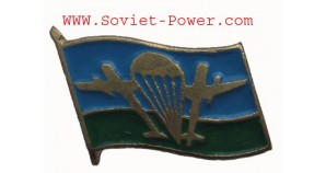 Russian VDV FLAG Military BADGE with Planes PARATROOPER