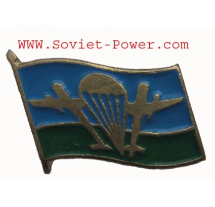 Russian VDV FLAG Military BADGE con Planes PARATROOPER