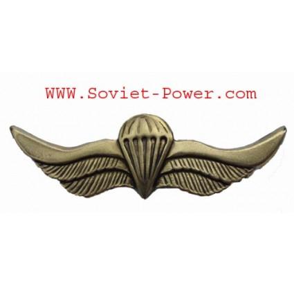 Russian VDV SPETSNAZ Metal Paratrooper badge wings SWAT