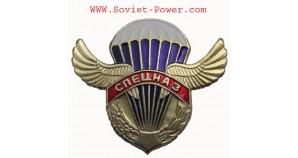 Russian VDV SPETSNAZ Paratrooper metal badge wings SWAT