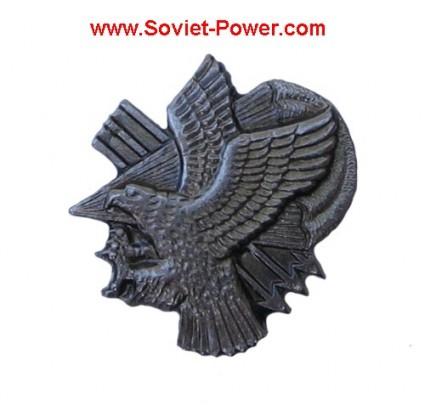 Insignia de metal ruso VDV SWAT con águila PARATROOPER