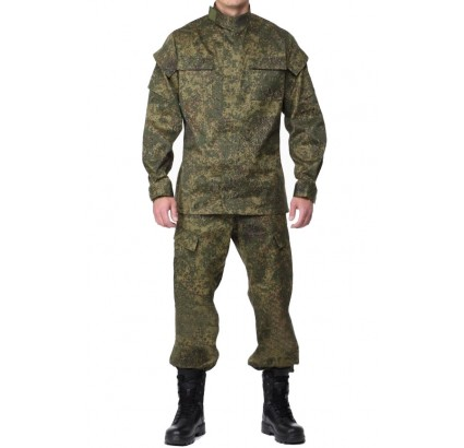 Russian Army Officers digital pixel VKBO uniform rip-stop