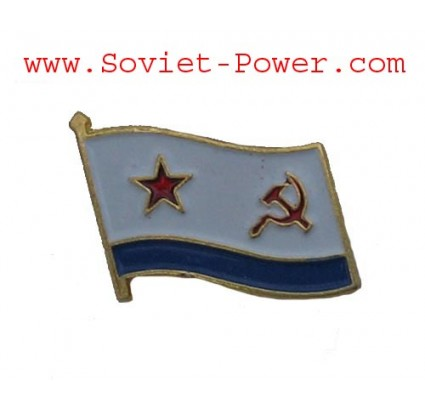 Soviet VMF FLAG Military BADGE Naval Fleet Emblem USSR