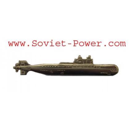 Soviet Golden SUBMARINE BADGE of USSR Navy Fleet Russia