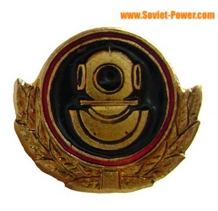 Insignia naval de pequeño DIVER soviético